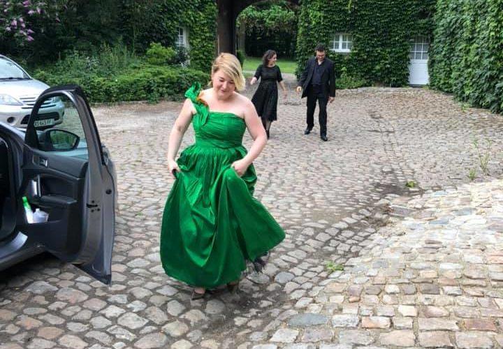 Visite d'une princesse au Château d'en Haut de Jenlain
